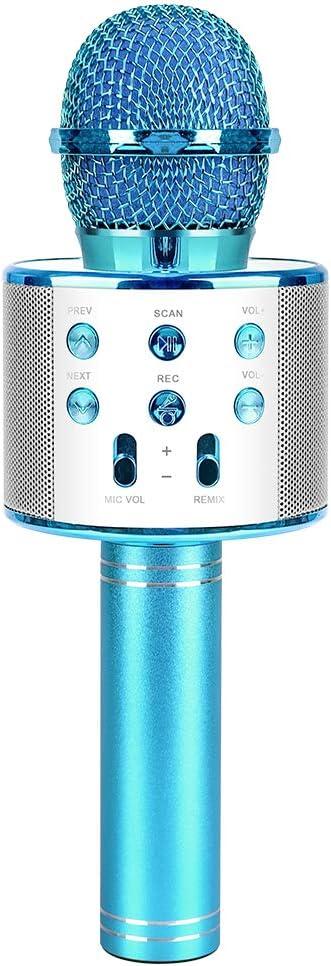 SUNNYPIG Wireless Karaoke-Mikrofon f/ür Kinder Singing Party Toy