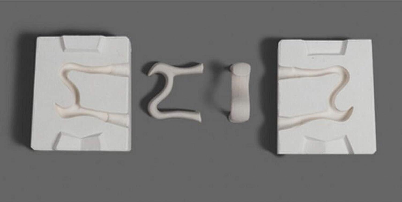 WellieSTR 1 Set Mini Detroit Mall 3D Super popular specialty store Plaster Cup Pot Handle Molds Ceramic Tea