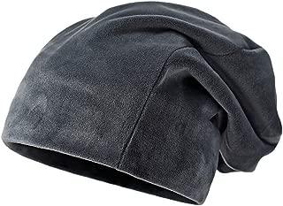 Clearance Solid Color Hat Unisex Warm Knit Hat Thick Velvet Wrap Cap Men Women Hats