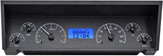 Dakota Digital 77 - 90 Chevy Impala / Caprice VHX Analog Dash System Black Alloy Blue VHX-77C-CAP-K-B