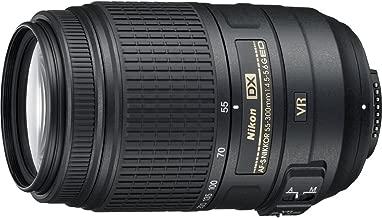 Beach Camera Nikon 55-300mm f/4.5-5.6G ED VR AF-S DX Nikkor Zoom Lens for Nikon Digital SLR (Renewed)