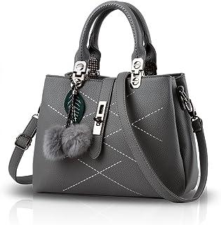 NICOLE & DORIS 2021 Neue Welle Paket Kuriertasche Damen weiblichen Beutel Handtaschen für Frauen Handtasche Grau