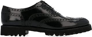 CHURCH'S Luxury Fashion Womens DE01699XVF0AAB Black Lace-Up Shoes | Season Permanent