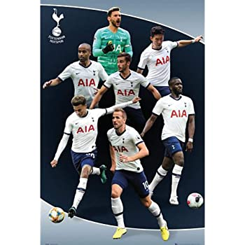 Tottenham Hotspur Crest Wall Poster Amazon Co Uk Sports Outdoors