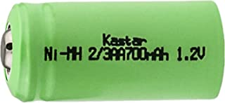 Kastar 2/3AA Rechargeable Ni-MH Battery Replacement for Solar Light, High Power Static Applications (Telecoms, UPS and Smart Grid), Electric Mopeds, Meters, Radios, RC devices, Electric Tools