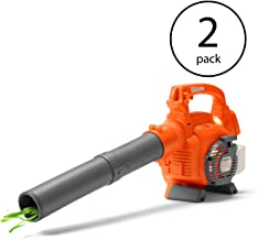 Husqvarna 125B Kids Toy Battery Operated Leaf Blower with Real Actions (2 Pack)