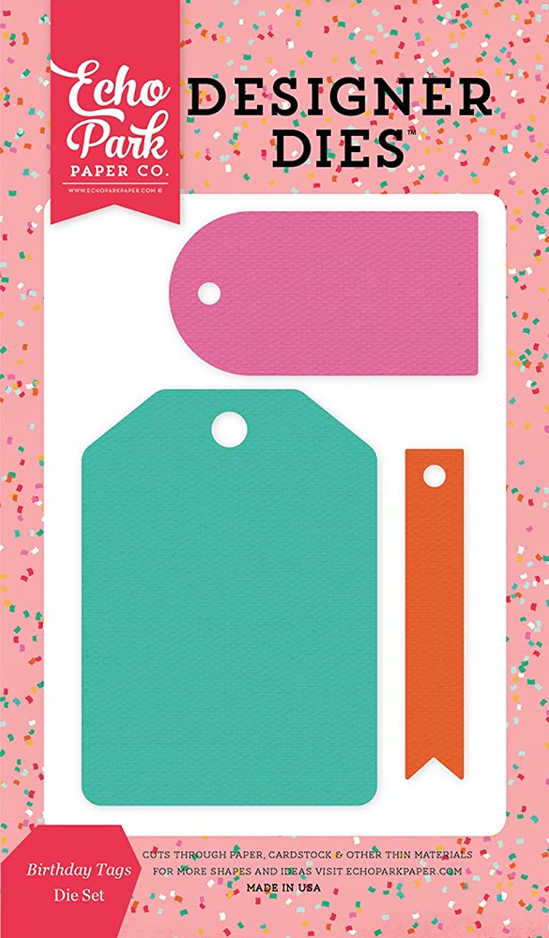 Echo Park Paper Company Birthday Tags Die Set
