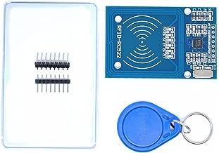 Kit RFID de 2 piezas de Willwin Mifare RC522 RF IC Card Sensor Module + S50 en blanco tarjeta + llavero para Arduino Raspberry Pieza