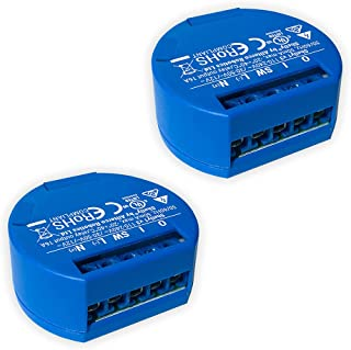 SHELLY 1 One Relay Switch Wireless WiFi Home Automation...