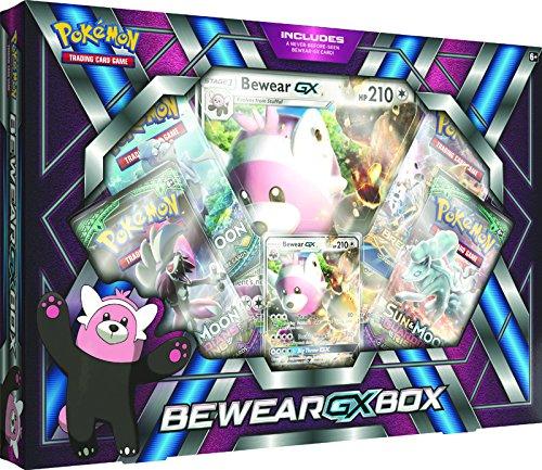 Juego de Cartas coleccionables Bewear-GX Box de Pokémon