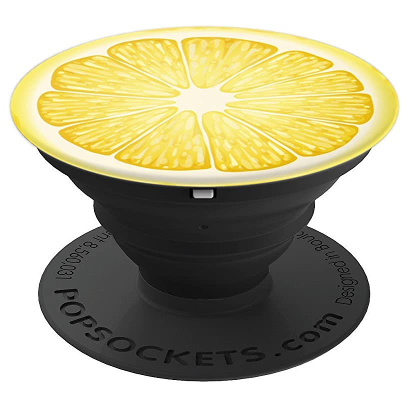 Cute Lemon Fruit Summer Time - PopSockets Grip and Stand for Phones and Tablets
