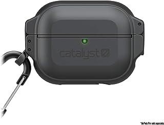 Catalyst Coque Protection Totale étanche 100m pour AiPods Pro, système de Verrouillage sécurisé, Mousqueton Noir furtif