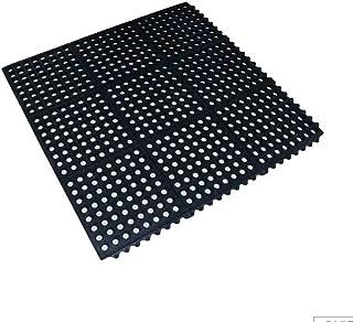LHL Indoor Hotel Kitchen Non-Slip Floor Mat 0.9 X 0.9 Metre Anti-Fatigue Heavy Duty Mats Factory Workshop Stitching Rubber Mat (Color : 90×90cm)