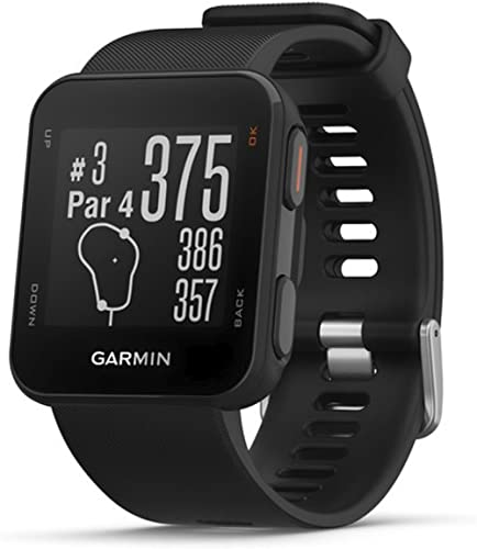 Garmin 010-02028-00 Approach S10, Lightweight GPS Golf Watch, Black