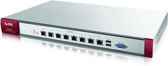 Zyxel Next-Generation USG with 300 VPN Tunnels, SSL VPN, 8 GbE WAN/LAN/DMZ (USG310)