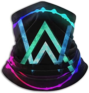 Alan Walker Faded Mask Black Blue logo With Air Filter Mouth Mask High Quality