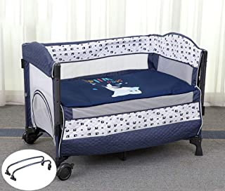 Multifunctional 3 in 1 Baby Changing Clothes Travel Crib Portable Collapsible Bag Tote Bag Cradle Crib Crib (Color : Blue)