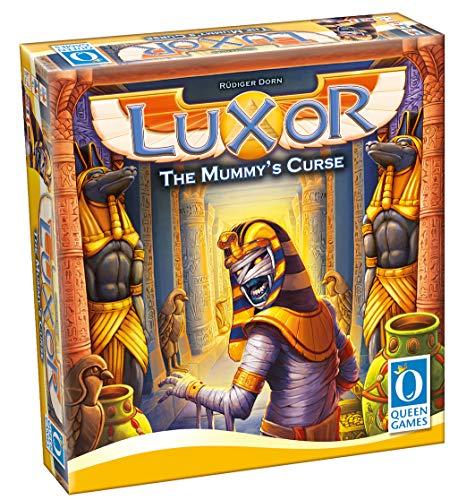 Queen Games- Luxor The Mummy'S Curse, Color carbón (10412)