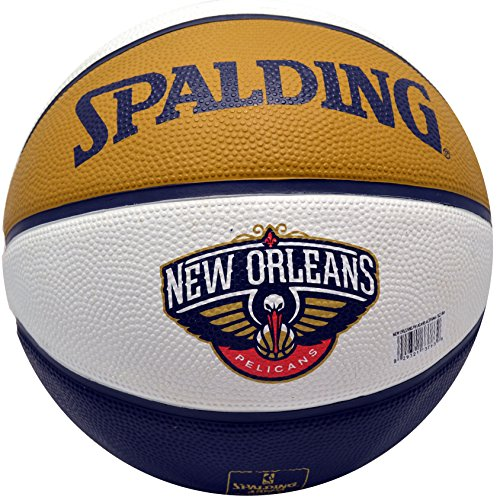 Fantastic Prices! Spalding NBA Rubber Basketball New Orleans Pelicans Arena Exclusive Ball