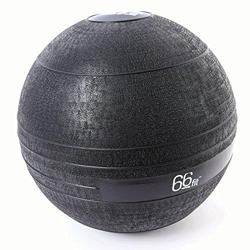 66FIT - Palla Slam, Colore: Nero, Nero (Nero), 5 kg