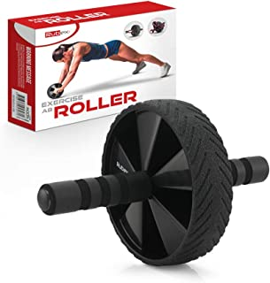 RUBEX Abs Roller Workout Equipment - for Home Gym Full Body Fitness Training, Core Exercise Equipment for Muscles Strength...