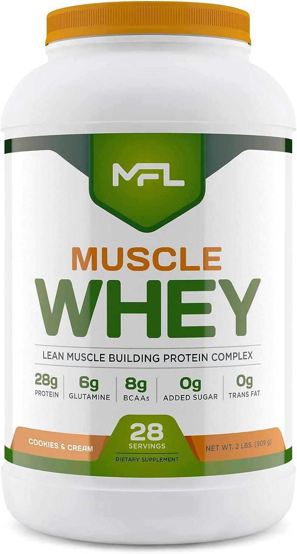 MFL Muscle Whey Protein l 28g Keto 8g BCAAs Frien 最安値に挑戦 of 高い素材