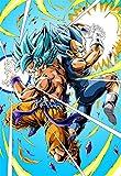 Puzzle De 300/500/1000 Piezas,Son Goku Obra De Arte De Juego De Customed Puzzles De Madera Fantasy Puzzle Educativo para Regalos De Niños Y Adultos S