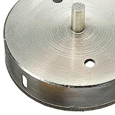 Foret diamante 5mm Diametre Fraise Meche Trepan pour Ceramique Verre Carrelage Gres R SODIAL