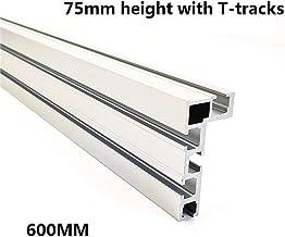 Binario a T tipo 45 in alluminio,Guida profilata a T con guida a T in lega di alluminio da 45 mm vite a T con guida a T,per sega circolare strumento per la lavorazione del legno router tavolo