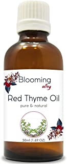 RED Thyme Oil (Thymus VULGARIS) 100% Natural Pure Essential Oil (50ml)