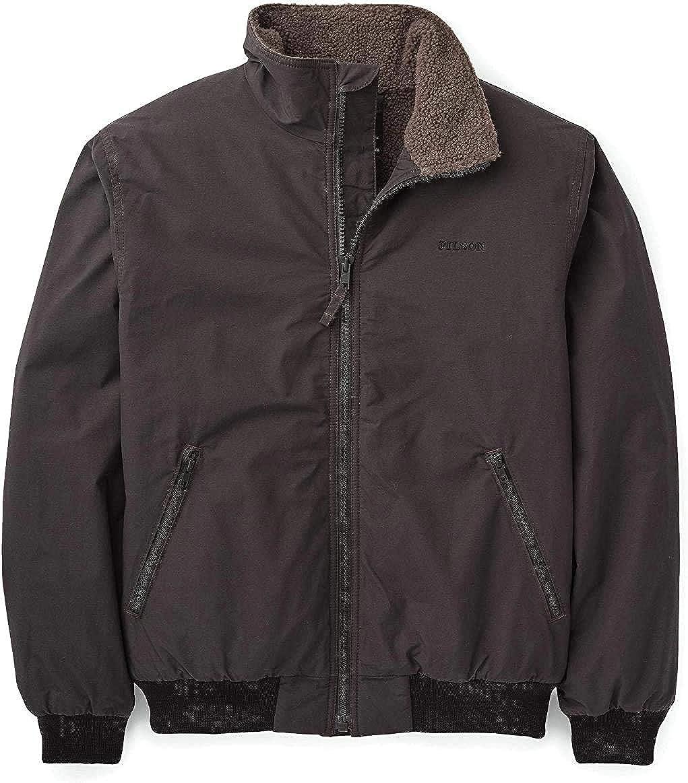 Filson Sherpa-Lined Deck Jacket Faded Black