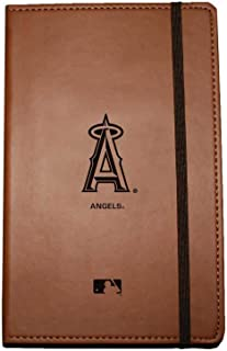 C.R. Gibson Large Leather Bound Journal, Los Angeles Angels (M833647TG)