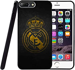 Saul&Dunn Real Madrid Gold iPhone 7 Plus & iPhone 8 Plus Case Graphic Drop-Proof Durable Slim Soft TPU Cover