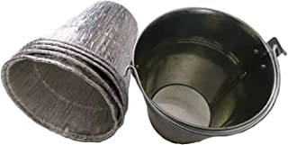soldbbq Grease Drip Bucket with 5-Pack Aluminum Liners Replace Part for Pellet Grills,Pit Boss Accessories