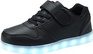 [ダント] スニーカー キッズ 発光シューズ LEDスニーカー LEDシューズ 7色 光る靴 超可愛い USB充電式 スポーツシューズ ボーイズ ガールズ 子供用 カジュアル シューズ