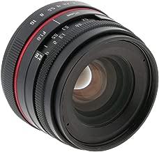 gazechimp Large Aperture Fixed Lens Portrait F1.8 25mm for Canon M5 M6 M10 M100 M3 M2