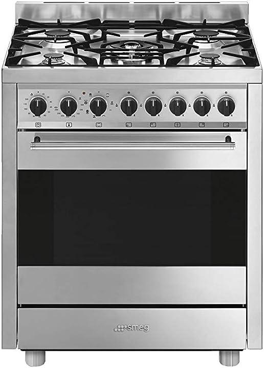Smeg b71gmxi9 cucina piano cottura acciaio inossidabile gas a [classe di efficienza energetica a]
