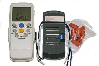 Kit de conversión universalpara ventilador de techo con luz y mando a distancia.