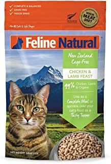 Freeze Dried Cat Food By Feline Natural - Perfect Grain Free, Healthy, Hypoallergenic Limited Ingredients For All Cats - R...