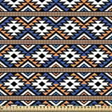 ABAKUHAUS Boho Gewebe als Meterware, Geometrisches Muster,