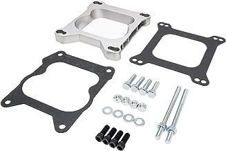 Holley square bore 4 barrel to QuadraJet carburetor adapter plate kit NEW