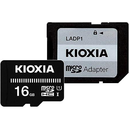 キオクシア(KIOXIA) 旧東芝メモリ microSDHCカード 16GB UHS-I対応 Class10 (最大転送速度50MB/s) 国内正規品 3年保証 Amazon.co.jpモデル KTHN-MW016G