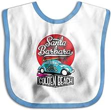 Hylionee6. Santa Barbara Golden BeachWaterproof,Bibs The Baby Bibs Comfort Teething Bibs Infant Clothes