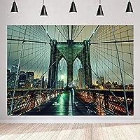 写真撮影のためのHDチェーンブリッジの背景世界的に有名な観光橋の背景パーティーの装飾バナー7x5ftZYMT0891