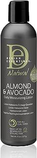 Design Essentials Natural Daily Hair Moisturizing Lotion - Moisture Rich Botanicals, Jojoba & Olive Oils - Almond & Avocad...