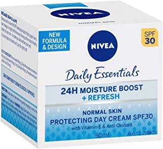 NIVEA Daily Essentials Refresh Protecting Day Cream SPF 30, 50ml