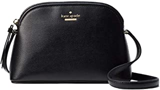 Kate Spade Peggy Patterson Drive Leather Crossbody Bag Black