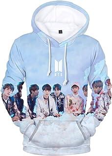 SIMYJOY Unisexe Korea Pop Fans Sweat à Capuche Imprimé 3D Pull Cool Kpop Portrait Sweat-Shirts K-Pop K-Pop K-Pop K-Pop pou...