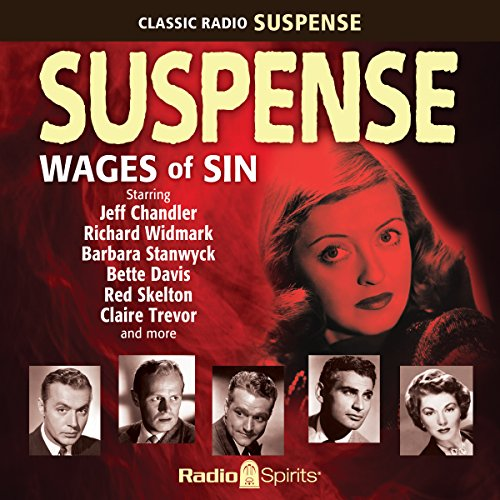 Suspense: Wages of Sin audiobook cover art