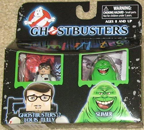 Ghostbusters Minimates Louis Tully & Slimer by Diamond Select Toys